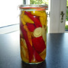 Eddikesyltede chili