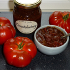 Tomatchutney med chili og ingefær