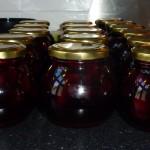 Kirsebær i krydret portvinslage - på glas