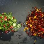 Chili con carne - chilierne hakket
