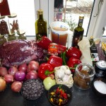 Chili con carne (will be translated upon request) - Ingredients