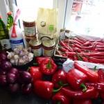 Chili sauce - Ingredients