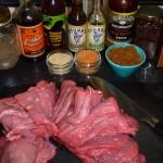 Beef Jerky - der skal mikses lidt forskellige marinader