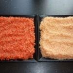 2 slags chilisalt - der tørres