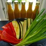 Citruschilisauce - på grønsager til grillen