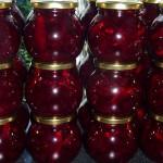 Syltede rødbeder med chili og nelliker - færdige