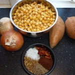 Chickpea balls with chili - Ingredients