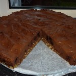 Amarena-choco mousse cake with chili - den færdige kage 2
