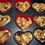 Chokolade musli eller nøddebarer med chili 5