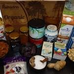 Vegansk ris a la mande kage med ingefær og chili - Ingredients
