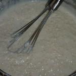 Vegansk ris a la mande kage med ingefær og chili - risengrøden