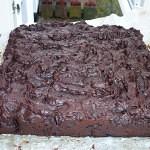 Chokolade-konfektkage med chili - køler af