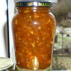 Citrusmarmelade med chili og gin