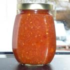 Filurlig chili marmelade med appelsin og hindbær