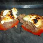 Grillede eller ovnbagte chili med veggiefyld